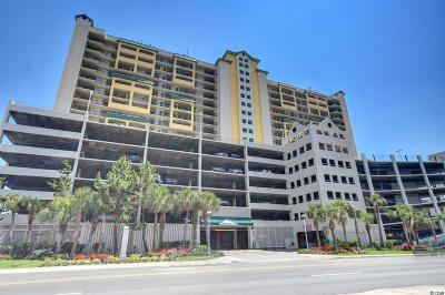 North Myrtle Beach Condo/Townhouse For Sale: 201 S Ocean Blvd #1705