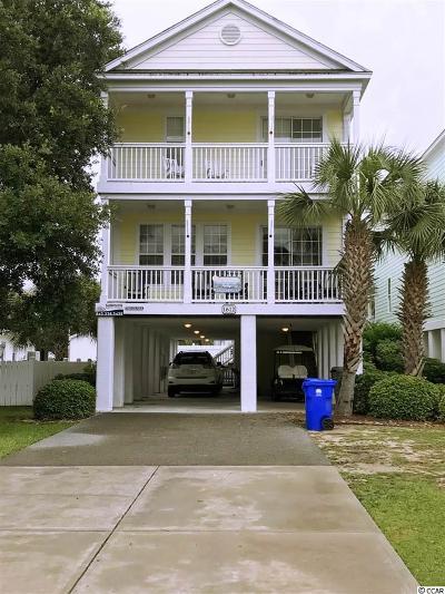 Surfside Beach Single Family Home For Sale: 1612 N Ocean Blvd