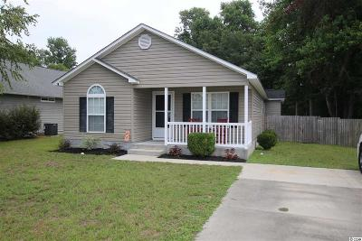 Conway SC Single Family Home For Sale: $130,000