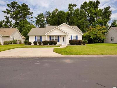 Myrtle Beach SC Single Family Home For Sale: $170,000