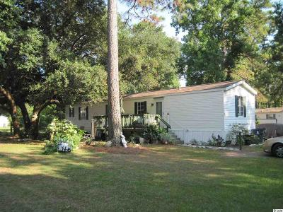 Murrells Inlet Single Family Home Active-Pend. Contingent Contra: 11140 McDowell Shortcut Rd., Lot #80