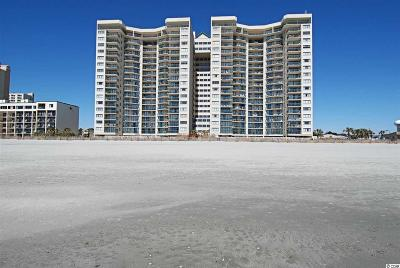 North Myrtle Beach Condo/Townhouse For Sale: 201 S Ocean Blvd #906