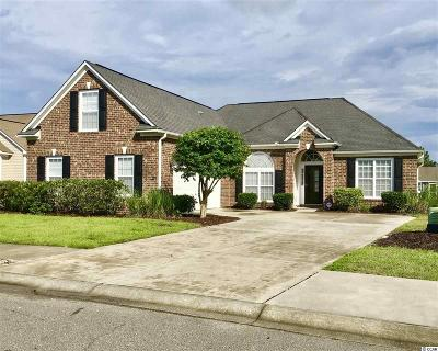 North Myrtle Beach Single Family Home For Sale: 3903 Club Course Drive