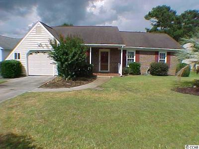 Murrells Inlet Single Family Home For Sale: 312 Mourning Dove Lane