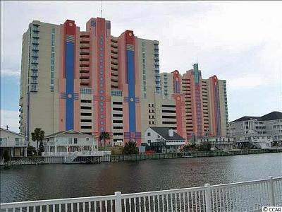 North Myrtle Beach Condo/Townhouse For Sale: 3500 N Ocean Boulevard #610