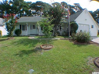 Murrells Inlet Single Family Home For Sale: 621 Bluebird Lane
