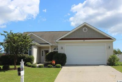 Myrtle Beach Single Family Home For Sale: 629 Cottontail Trail