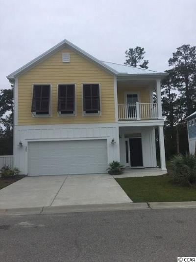 Murrells Inlet Single Family Home For Sale: 289 Splendor Circle