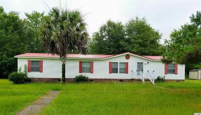Loris Single Family Home For Sale: 358 Bright Leaf Rd.