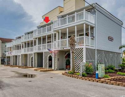 Garden City Beach Condo/Townhouse For Sale: 1530 N Waccamaw Drive, Unit 6 #6