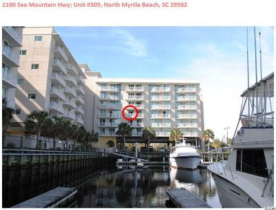 North Myrtle Beach Condo/Townhouse For Sale: 2100 Sea Mountain Hwy. #305
