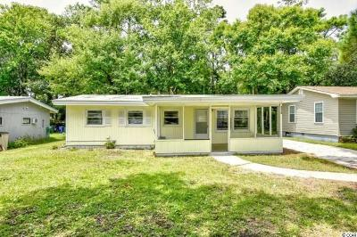 North Myrtle Beach Single Family Home Active Under Contract: 3306 Palm St.