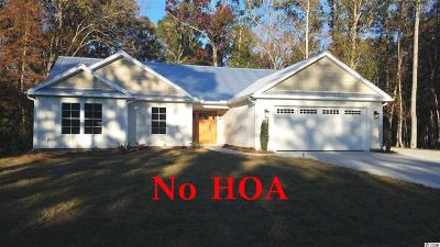 Murrells Inlet Single Family Home Active-Pending Sale - Cash Ter: 50 Tupelo Rd.