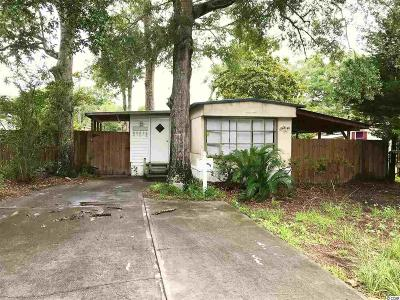 North Myrtle Beach Single Family Home For Sale: 4513 Pelican Street