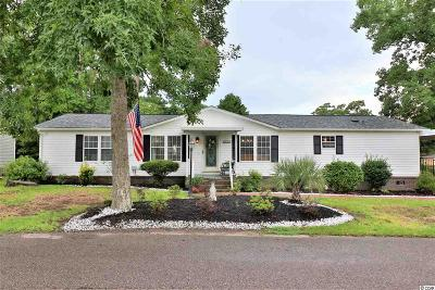 Myrtle Beach Single Family Home Active-Pending Sale - Cash Ter: 1611 Perry Circle