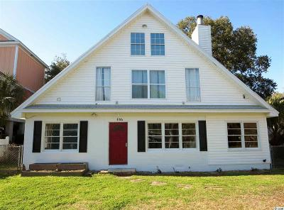 Surfside Beach Multi Family Home For Sale: 114 N Pinewood Drive