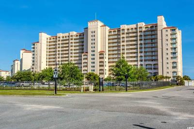 North Myrtle Beach Condo/Townhouse For Sale: 4801 Harbor Point Drive #1401