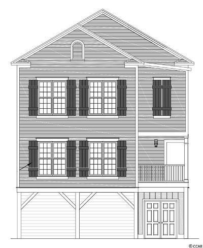 Pawleys Island Single Family Home For Sale: Lot 28 Lazy Hammock