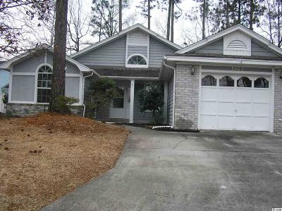 Little River Single Family Home Active-Pending Sale - Cash Ter: 889 Knoll Drive