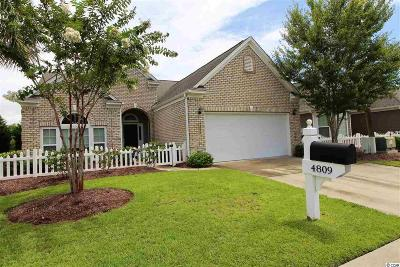 North Myrtle Beach Single Family Home For Sale: 4809 Greenhaven Drive