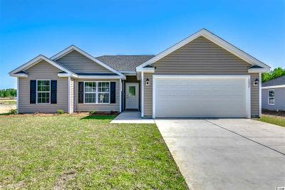 Horry County Single Family Home For Sale: Lot 5 Hallie Martin Rd.