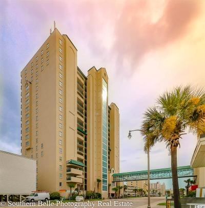 North Myrtle Beach Condo/Townhouse For Sale: 3805 S Ocean #402