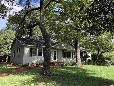 Myrtle Beach Single Family Home For Sale: 153 Pine Tree Lane