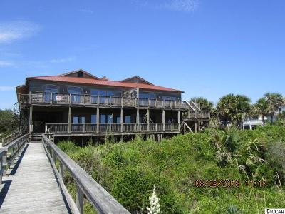 Pawleys Island Single Family Home For Sale: 334 Myrtle Avenue