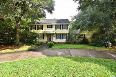 Pawleys Island Single Family Home For Sale: 1272 Crooked Oak