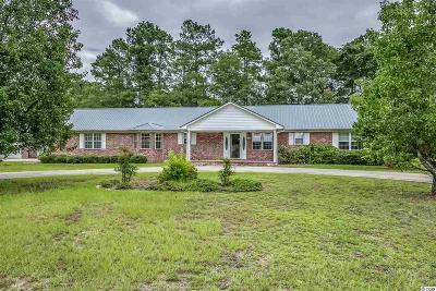 Galivants Ferry SC Single Family Home Active-Pend. Cntgt. On Financi: $195,000