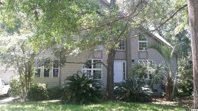 Murrells Inlet Single Family Home For Sale: 5457 Huntington Marsh Rd.