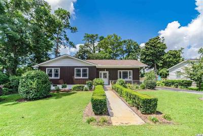 North Myrtle Beach Single Family Home Active-Pending Sale - Cash Ter: 501 Rosemary Lane