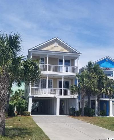Surfside Beach Single Family Home For Sale: 1616 N Ocean Blvd.