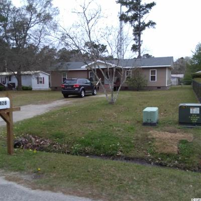 Georgetown County, Horry County Single Family Home Active-Hold-Don't Show: 2428 Derby Circle