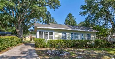 North Myrtle Beach Single Family Home For Sale: 4510 Hedrick