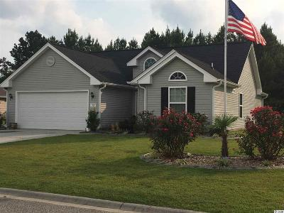 Conway Single Family Home Active-Pending Sale - Cash Ter: 332 Carolina Springs Court