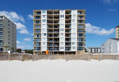 North Myrtle Beach Condo/Townhouse For Sale: 3513 S Ocean Blvd #705
