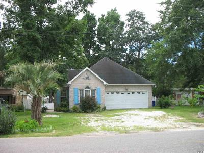Surfside Beach Single Family Home For Sale: 725 Cypress Drive