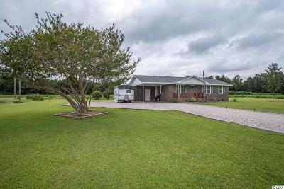 Loris Single Family Home For Sale: 3334 Fries Bay Rd