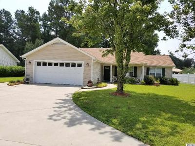 Conway Single Family Home For Sale: 874 Castlewood Dr