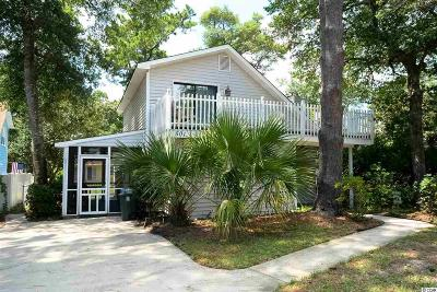 North Myrtle Beach Single Family Home Active-Pending Sale - Cash Ter: 501 2nd Ave. N.