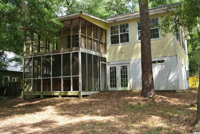 Pawleys Island Single Family Home For Sale: 27 Hussey