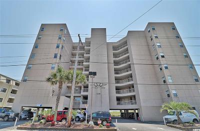 North Myrtle Beach Condo/Townhouse For Sale: 5508 N Ocean Blvd #204