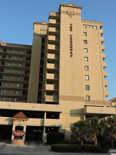 North Myrtle Beach Condo/Townhouse For Sale: 501 S Ocean Blvd #306