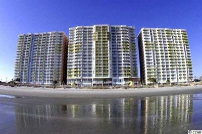 North Myrtle Beach Condo/Townhouse For Sale: 2711 S Ocean Blvd #721