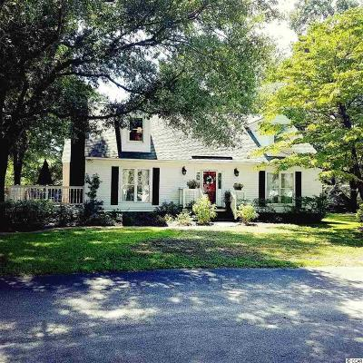 Murrells Inlet Single Family Home For Sale: 851 Sawmill Road