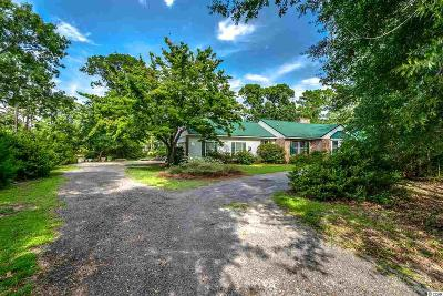 Pawleys Island Single Family Home For Sale: 172 Keithland Dr.