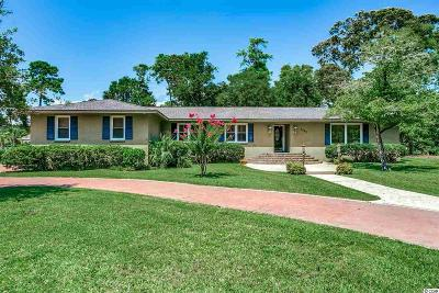 North Myrtle Beach Single Family Home For Sale: 1502 Magnolia Dr