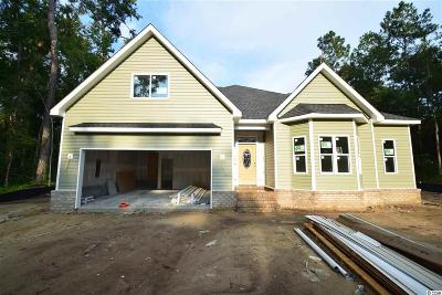 Pawleys Island Single Family Home For Sale: Lot 6 Hill Dr