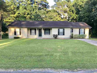 Georgetown Single Family Home For Sale: 1862 Sumter St.